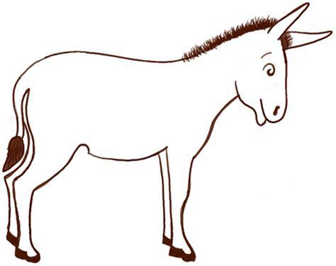 donkey drawing  kids