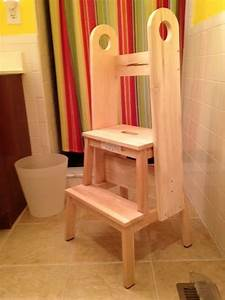 Remodelaholic 12 ikea bekvam step stool hacks for Bathroom step stool for toddlers