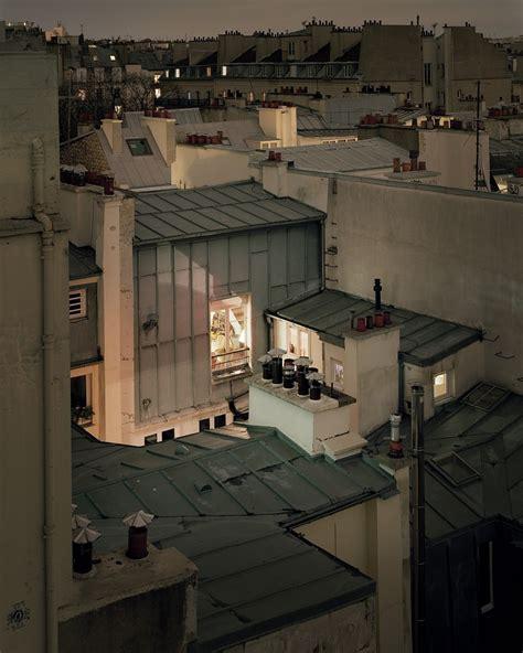 les toits de paris  jour de   paris