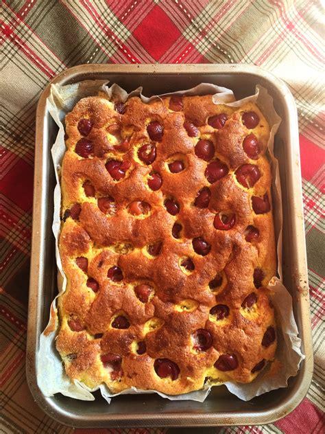 cherry sponge sheet cake recipe  baking