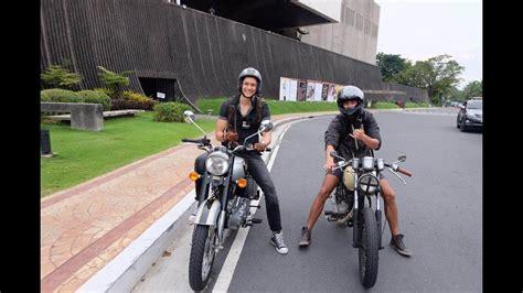 Vlog 3 Motorcycle Ride Around Manila, Philippines