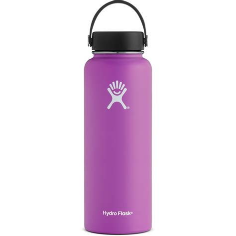 HYDRO FLASK 40 oz. Wide Mouth Water Bottle with Flex Cap ...