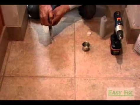 how to fix hollow tile floors don t remove or