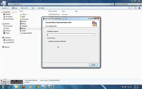 windows 7 bureau how to install ms office 2003 in windows 7