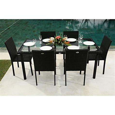ensemble table et chaises de jardin ensemble table de jardin 180 cm et 6 chaises résine