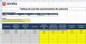 Calcul Consommation énergétique : feuille de calcul suivi de consommation carburant excel ~ Premium-room.com Idées de Décoration
