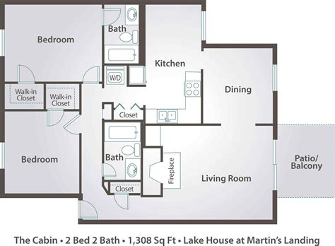 2 floor plans house floor plans two bedroom house or apartment