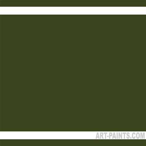 Olive Green Artists Colors Acrylic Paints Js60075
