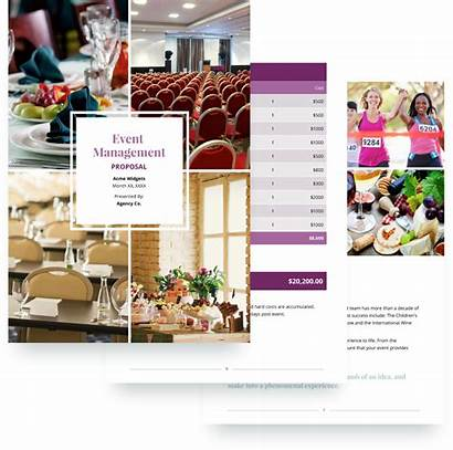 Proposal Event Template Management Sample Company Planning