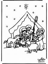 Crib Christmas Coloring Funnycoloring Jul Fargelegg Pages Advertisement Bibel Annonse sketch template