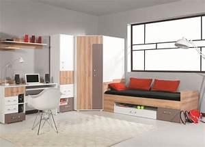 Meuble D Angle Chambre : armoire d 39 angle pour enfant et adolescent rangement ~ Teatrodelosmanantiales.com Idées de Décoration