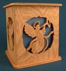 Angel Tissue Box Cover Pattern – Scrollsaw com