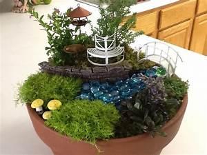 Container fairy garden in the garden pinterest for Fairy garden container ideas
