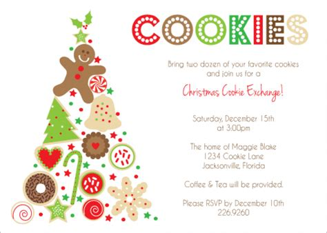 Cookie Invitation Template by Cookie Exchange Invitation Templates Orderecigsjuice Info