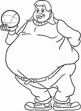 Fat Coloring Pages Boy Albert Holding Ball Drawing Person Kidsplaycolor Netart Bar Boys Cosby Trending Days Last Sketches Printable Again sketch template