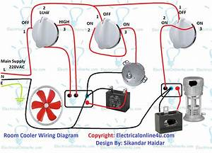 Air Room Water Cooler Wiring Diagram