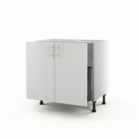 meuble cuisine 70 cm largeur meuble de cuisine sous évier blanc 2 portes h 70 x l