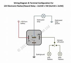 Flasher Wiring Diagram 12v