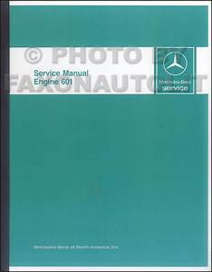 1984 Body Repair Shop Manual Reprint 2 Volume Set 190d 190e