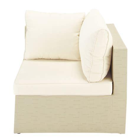 canape d exterieur angle canapé d 39 extérieur beige ibiza maisons du monde