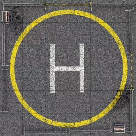 What inspired the design of a helipad? Why is it circular ...