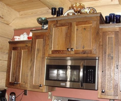 kitchen cabinets made from barn wood reclaimed barnwood kitchen cabinets barn wood furniture 9164