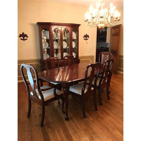 pennsylvania house solid cherry dining room set chairish