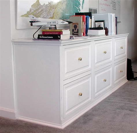 White Wooden File Cabinets by Files Organizer Ideas For Your Home Office With Ikea Wood