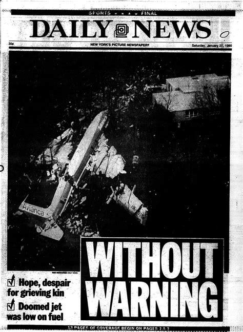 fuel  main   avianca flight  crash   ny daily news