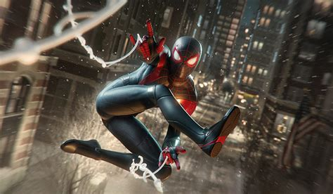 epic web swinging stunts  spider man miles morales