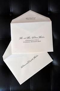 Envelope addressing double envelopes wiregrass weddings for Wedding invitations with double envelopes