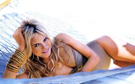 Sexy Heidi Klum Sexy Smile Wallpaper 2560x1600 Photo