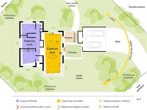 plan de maison 3 chambres plain pied plan maison moderne de plain pied 3 chambres ooreka