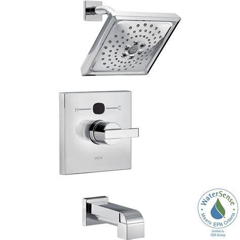 bathtub trim kit delta temp2o angular modern single handle tub and shower