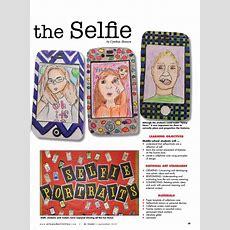 The Art Of The Selfie  Arts & Activities  Art Education Essentials  Back To School Art
