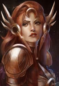 Leona, the radiant dawn by Skyzocat on DeviantArt
