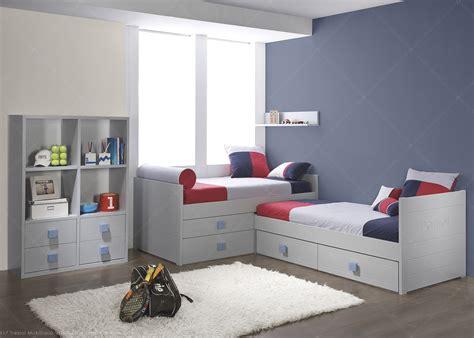 chambre 2 lits chambre pour 2 enfants avec 2 lits et bibliothèque de qualité