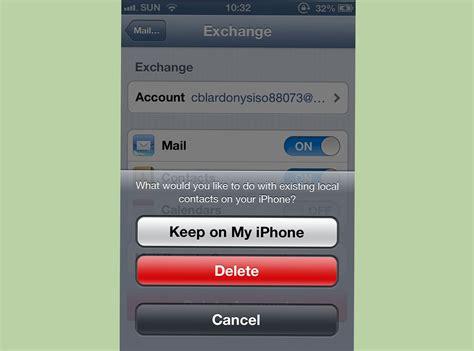 iphone exchange 2 easy ways to sync your iphone with microsoft exchange