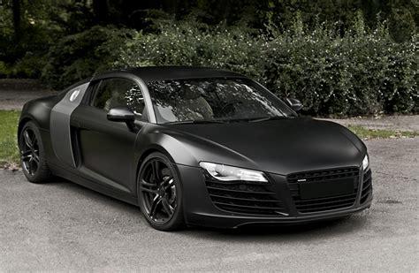 Audi R8 Spyder Matte Black