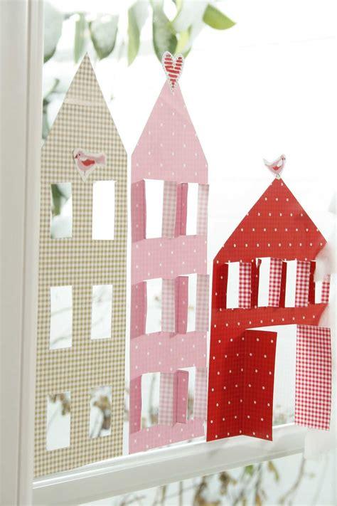 Herbstdeko Fenster Mit Kindern by Diy Dezember Teil 1 Ideen Aus Papier Basteln