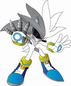 metal demon hyper silver the hedgehog   Metal Silver by ...