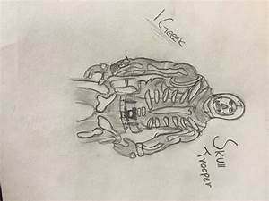 Fortnite Skeleton Drawing