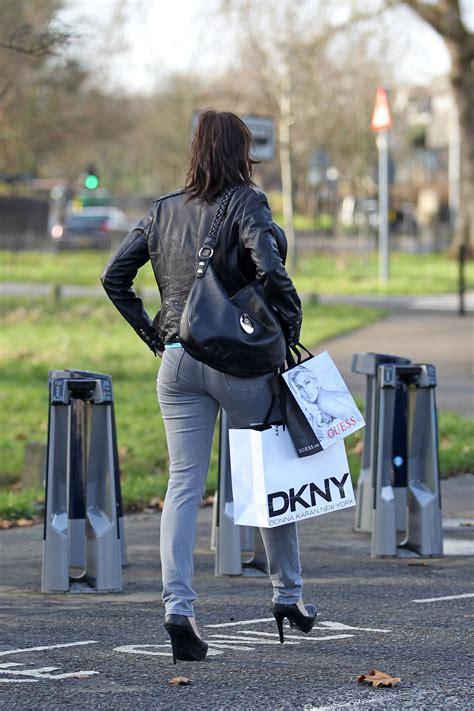 imogen thomas tight jeans candids  london  gotceleb