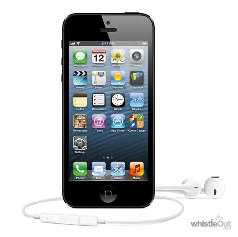 iphone 5 16gb price iphone 5 16gb compare plans deals prices whistleout