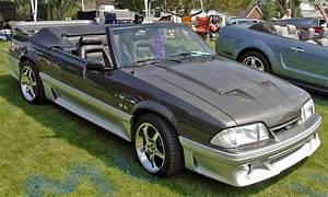 Dark Titanium Gray 1990 Ford Mustang GT Convertible - MustangAttitude.com Photo Detail