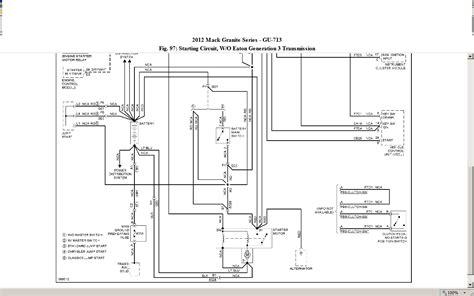 Mack Ch600 Fuse Box Diagram by 1999 Mack Truck Fuse Panel Diagram Images Auto Fuse Box