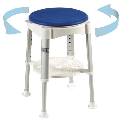 small swivel chairs for living rotating shower stool shower stools clearwell mobility