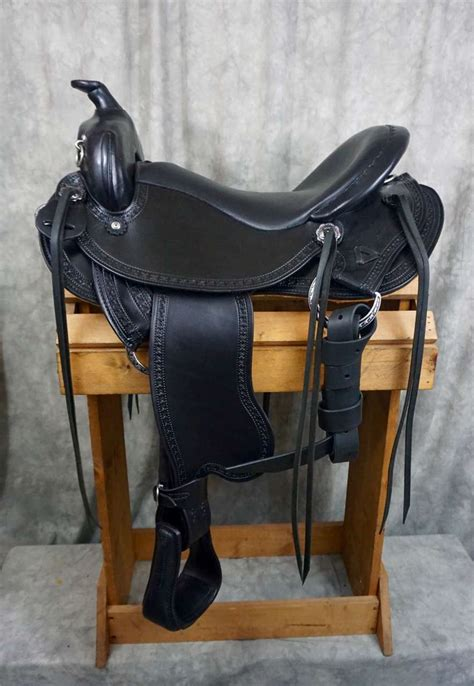 western saddle trail amish saddles custom rigging tack rings quality drop