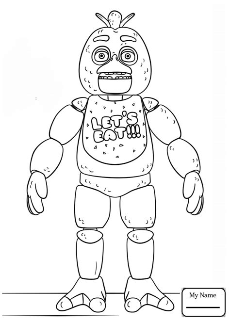 Golden Freddy Kleurplaat by Fnaf Coloring Pages Golden Freddy Gallery Coloring For