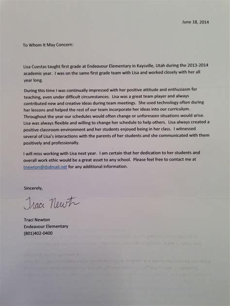 letters  recommendation lisa cuestas teaching portfolio